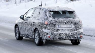 BMW 2 Series Active Tourer in development - rear