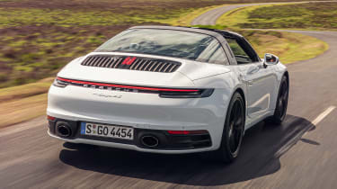 Porsche 911 Targa rear tracking