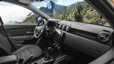 2021 Dacia Duster SUV - interior