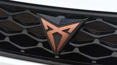 Cupra Ateca SUV - badge close-up