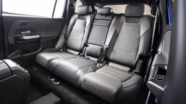 2019 Mercedes GLB - second seating row