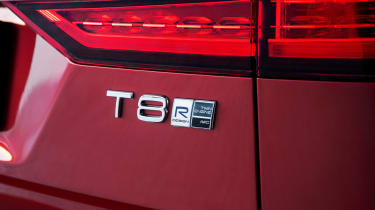 Volvo V60 T8 Twin Engine hybrid badge