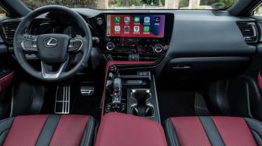 Lexus NX SUV interior