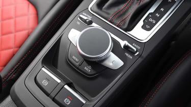 Audi SQ2 SUV rotary controller