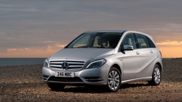 The Mercedes B-Class is a small five-seat MPV, providing an upmarket alternative to a hatchback