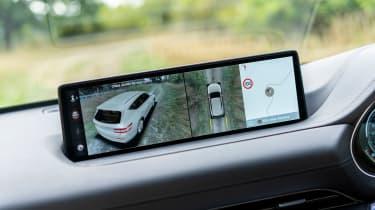 Genesis GV80 SUV infotainment display
