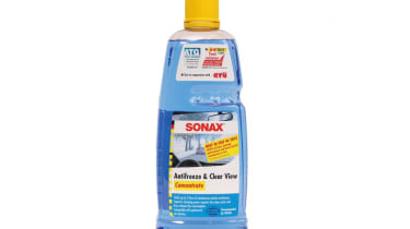 Sonax Antifreeze & Clear View  Price: around £6 Rating: 4/5 Size: 1,000ml