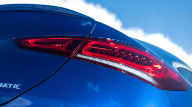 Mercedes GLE Coupe SUV rear lights