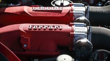 Ferrari Roma coupe engine cover