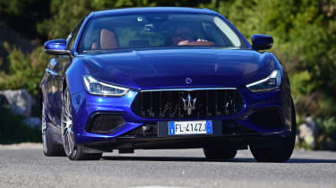 It's a rival to models like the BMW 5 Series, Jaguar XF and Mercedes E-Class, along with the Audi A7 and Mercedes CLS