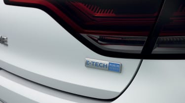 2020 Renault Megane E-Tech - rear badge