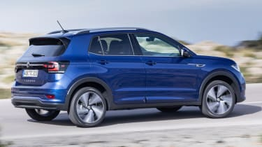 Volkswagen T-Cross 2019 tracking side profile