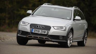 Audi A4 Allroad - Front 3/4 dynamic
