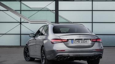Mercedes-AMG E53 rear view