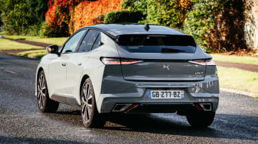 DS 4 driving - rear