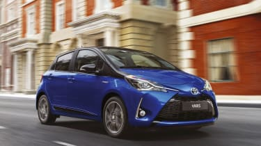 The 2017 Toyota Yaris has had a £78 million makeover