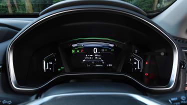 honda cr-v hybrid suv dials
