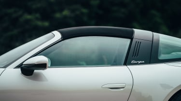 Porsche 911 Targa roof up