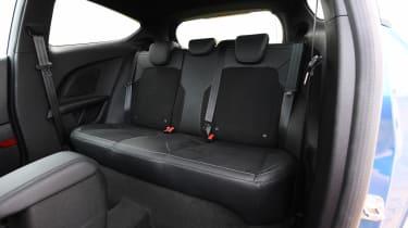 Ford Fiesta ST hatchback rear seats