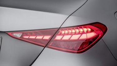 2021 Mercedes C-Class tail-light