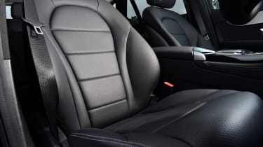 Mercedes GLC SUV front seats