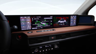 Honda e - interior final production