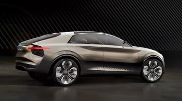 Kia Imagine concept in studio - rear
