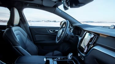 Volvo V60 T8 Twin Engine hybrid front seats