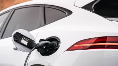 Jaguar E-Pace SUV review charging flap