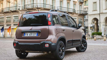 New Fiat Panda Trussardi limited edition - Rear 3/4 static