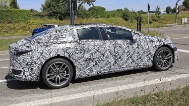 Mercedes EQS prototype