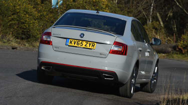 Skoda Octavia vRS - rear 3/4 view