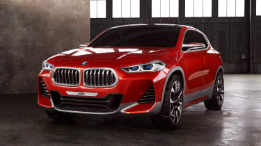 Another new SUV, the BMW X2 is a coupe-esque crossover based on the current BMW X1