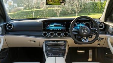 Mercedes-AMG E 63 estate interior