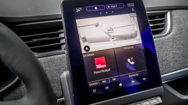 New Renault ZOE - infotainment screen