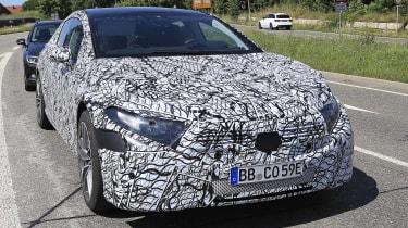 Mercedes EQS - front end