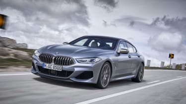 BMW 8 Series Gran Coupe - 3/4 tracking shot