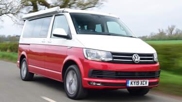 Volkswagen California Ocean - front 3/4 driving