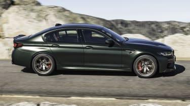 2021 BMW M5 CS - side view dynamic