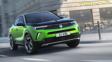 Vauxhall Mokka SUV revealed - front cornering