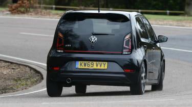 Volkswagen up! GTI hatchback rear cornering