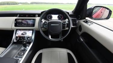Range Rover Sport SUV interior