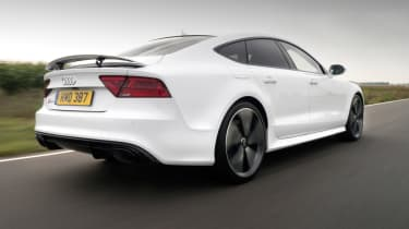 It's a rival to models including the Mercedes CLS and BMW 6 Series Gran Coupe