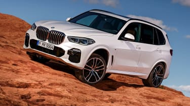 BMW X5 static off-road