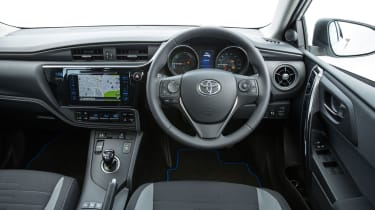 Toyota's Touch 2 with Go Navigation is standard on the Auris Business Edition and Excel
