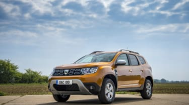 Dacia Duster 1.0-litre 100 TCe - Front 3/4 static shot