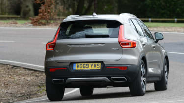Volvo XC40 SUV rear cornering