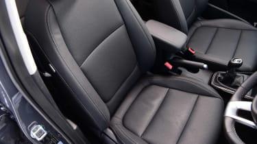 Kia Rio hatchback front seats