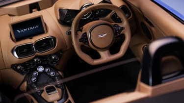 2020 Aston Martin Vantage Roadster - cabin elevated view
