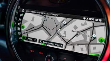 MINI Countryman Plug-in Hybrid navigation